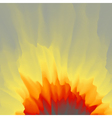 Burst Fire Explosion Abstract background pattern vector image vector image