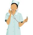 Nurse vector image