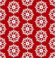 christmas red seamless vector image