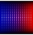 Red blue and purple shining disco equalizer lights vector image