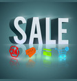 light word sale vector image