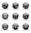Glossy icon set 29 vector image vector image