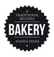Bakery vintage black stamp vector image