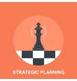 Strategic Planing vector image