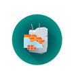 building rubble waste icon vector image