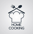 Home cooking vector image