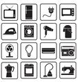 home appliances icon vector image