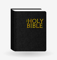 leather holy bible book pictogram icons vector image