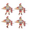 Walking Roman Soldier Sprite vector image