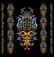 psychedelic ornament element vector image
