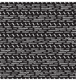 Black and white seamless pattern with stripes vector image