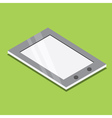 Tablet Pc Isometric Icon vector image