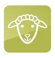 Sheep icon Farm animal vector image