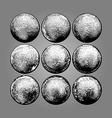 Nine Balls vector image vector image