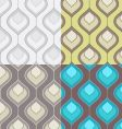 deortive pattern set vector image
