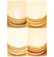 Fabric curtain vector image