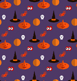 Halloween pattern25 vector image