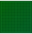 Green graph paper vector image