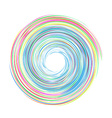 Whirlpool carnival vector image