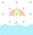 Rainy vector image vector image