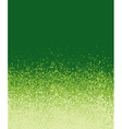 graffiti spray painted green gradient background vector image