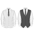 Formal wear for men vector image