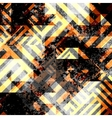 Danger geometric background vector image