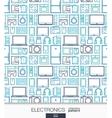 Home Electronics wallpaper Digital shop seamless vector image vector image