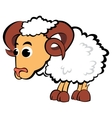 Child aries vector image vector image