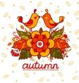 Autumn designe vector image