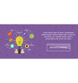 Brainstorming ideas banner vector image