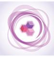 Opacity circles vector image