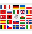 Flags of country vector image