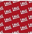 modern love seamless pattern vector image