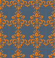 seamless pattern with swirls and floral motifs in vector image