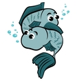 Child pisces vector image
