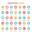 purchase payment and delivery icons vector image vector image