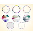 Abstract web Icons vector image