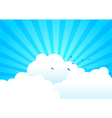 Bright Day vector image