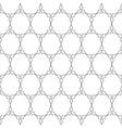 Delicate pattern in arabian style vector image