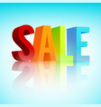 sale promotion template vector image