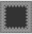 ornament frame vector image