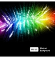 awesome shiny abstract background vector image