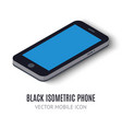 Mobile phone concept isometric icon vector image