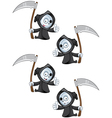 Reaper Giving A Thumbs Up vector image