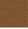 Seamless stone wall brown pattern vector image