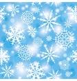 snow pattern vector image