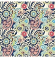 Paisley seamless colorful pattern vector image vector image