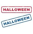 Halloween Rubber Stamps vector image