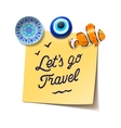 Travel and tourism concept vector image vector image